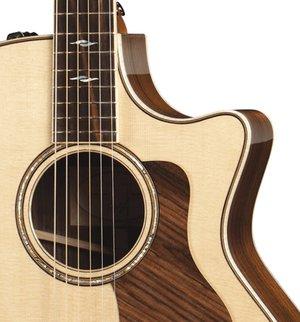 cutaway på western guitar